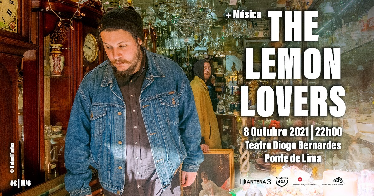 The Lemon Lovers - Teatro Diogo Bernardes | Ponte de Lima