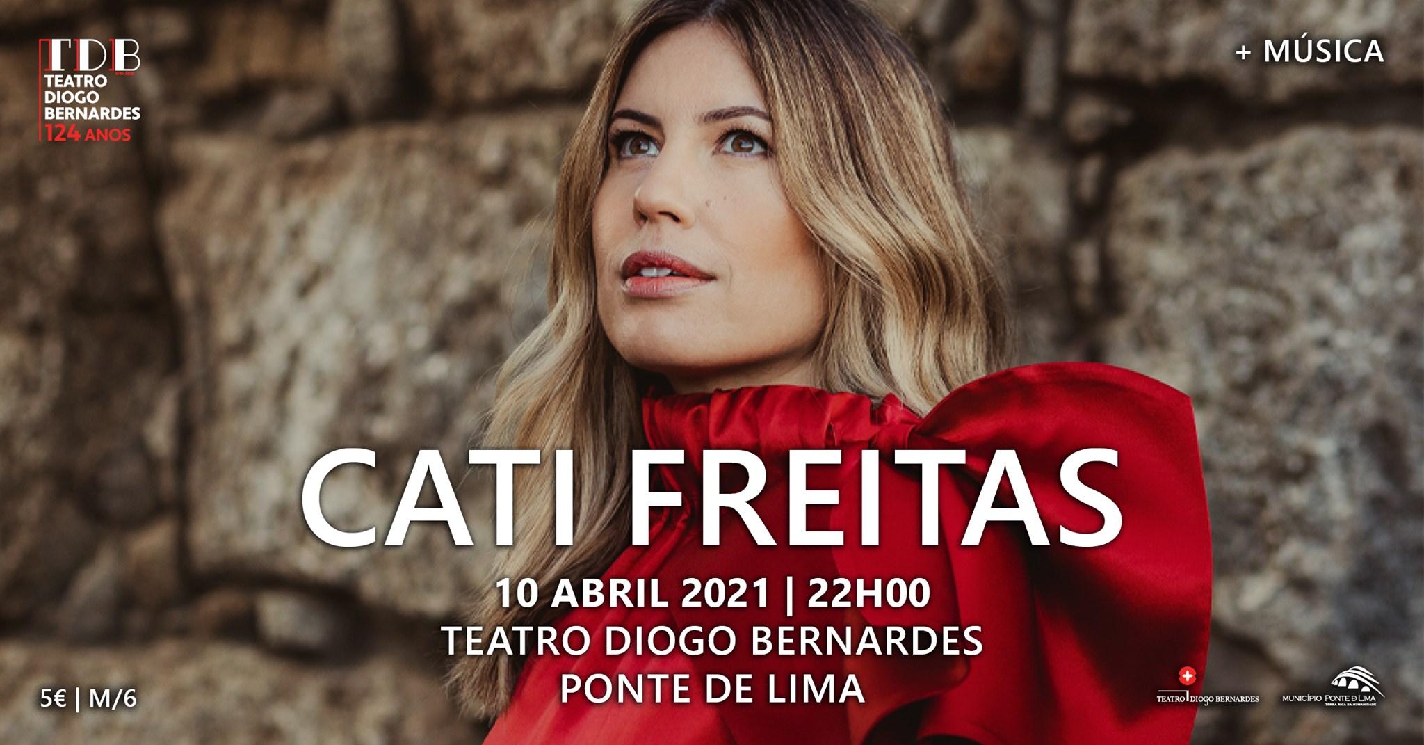 Cati Freitas, voz e piano | Teatro Diogo Bernardes - Nova Data