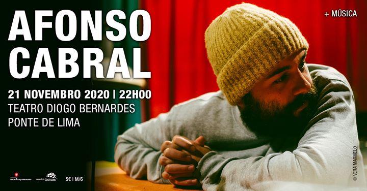 Afonso Cabral   Teatro Diogo Bernardes - Ponte de Lima