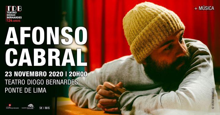 Afonso Cabral | Morada - Teatro Diogo Bernardes