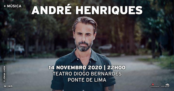 André Henriques | Teatro Diogo Bernardes - Ponte de Lima