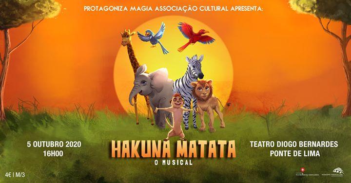 Hakuna Matata O Musical | ProtagonizaMagia - 16h00