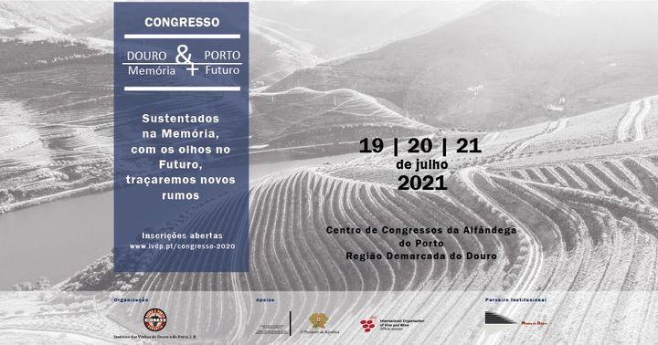 Congresso Douro & Porto 2020 – Memória com Futuro