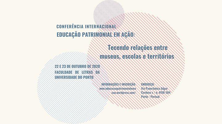 Conferência Internacional Educação Patrimonial em Ação