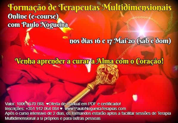 Curso Online de Terapia Multidimensional a 16 e 17 Mai'20