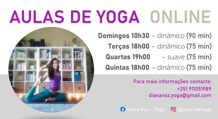 Aulas de Yoga Online - mês de maio