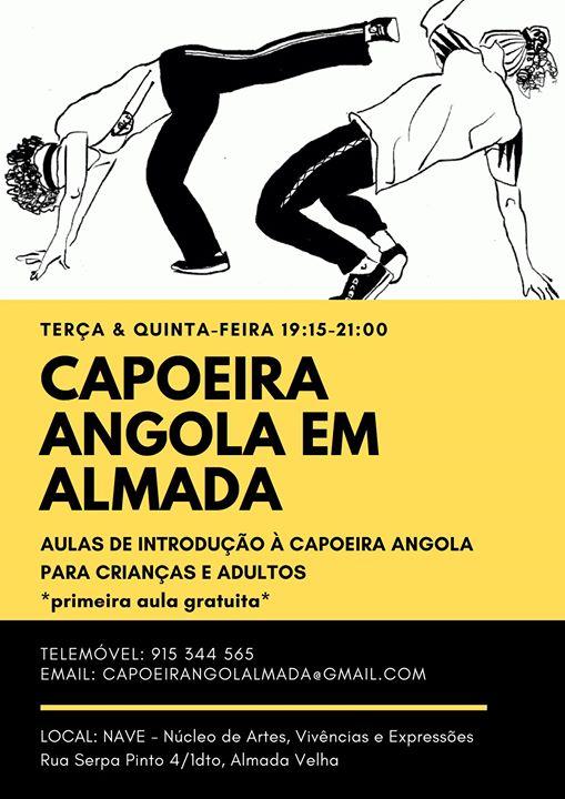 Capoeira Angola em Almada