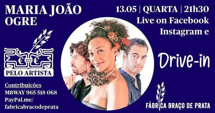 Esgotado: Drive-In + On-line | Maria João canta Ogre