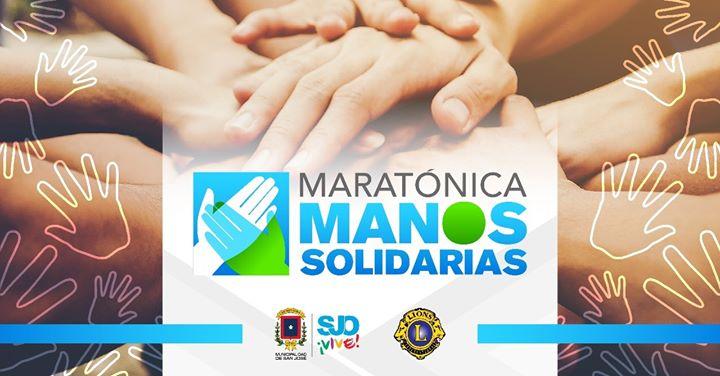 Maratónica Manos Solidarias para afectados por Covid-19