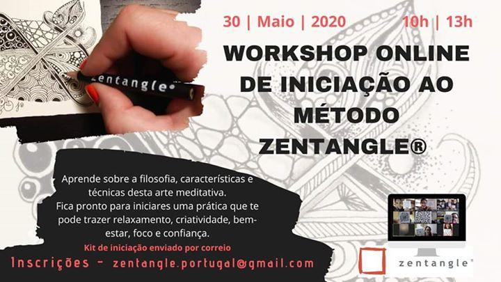 Workshop Online de Iniciação ao Método Zentangle®