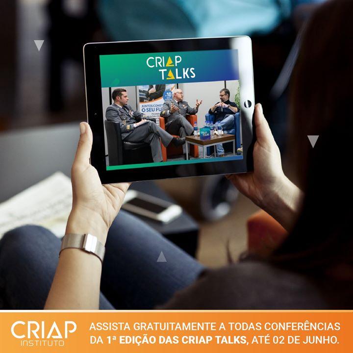 CRIAP Talks   Reveja a 1ª Edição