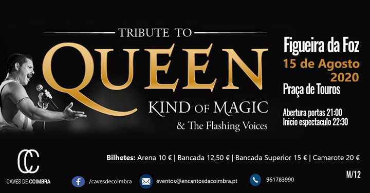 QUEEN Kind of Magic & The Flashing Voices