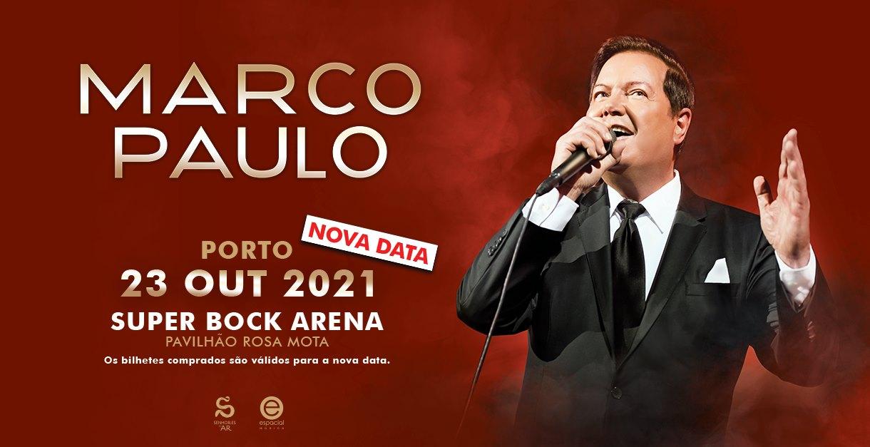 MARCO PAULO   23 de outubro 2021 - Super Bock Arena - Pav. Rosa Mota