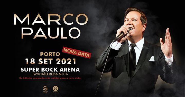 MARCO PAULO   18 Setembro 2021 - Super Bock Arena - Pav. Rosa Mota