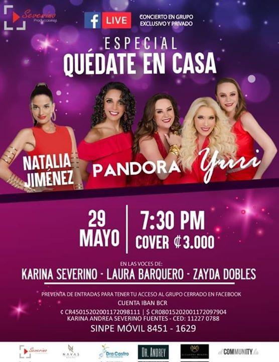 Pandora Yuri Y Natalia Jiménez Tributo Facebook Live