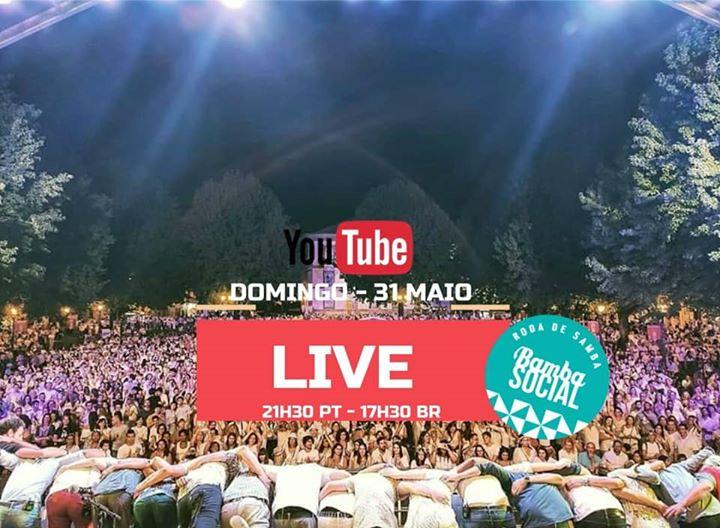 Live Youtube - Bamba Social (roda de samba) - Plano B