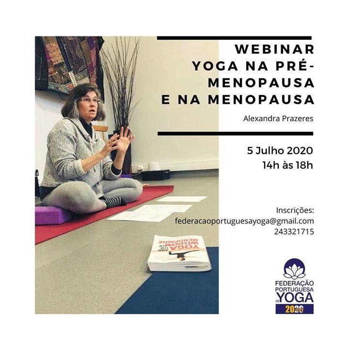Webinar Yoga na Pré-Menopausa e na Menopausa