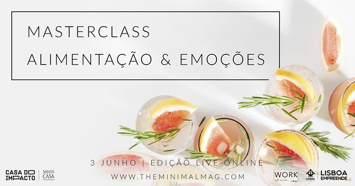 Masterclass Alimentação & Emoções   Directo Online