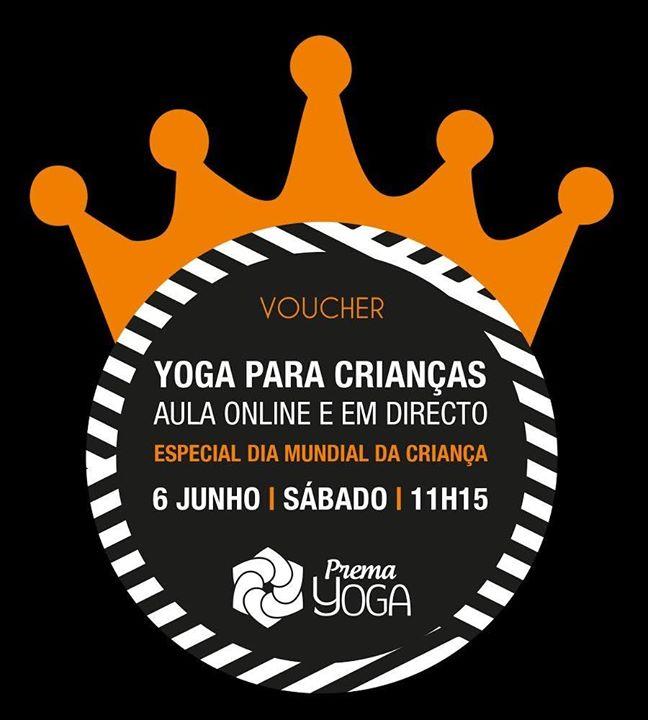 Yoga Crianças Directo Online