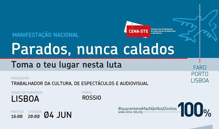 Parados, nunca calados - Manifestação Nacional (Lisboa)