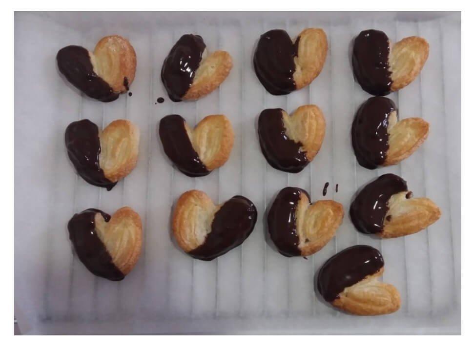 Ludotecaencasa te propone hacer Palmeritas de chocolate
