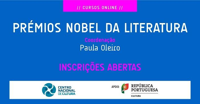Prémios Nobel da Literatura [curso online]