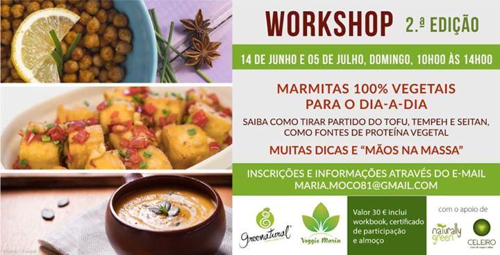 2ª Edição- marmitas 100% vegetais para o dia-a-dia