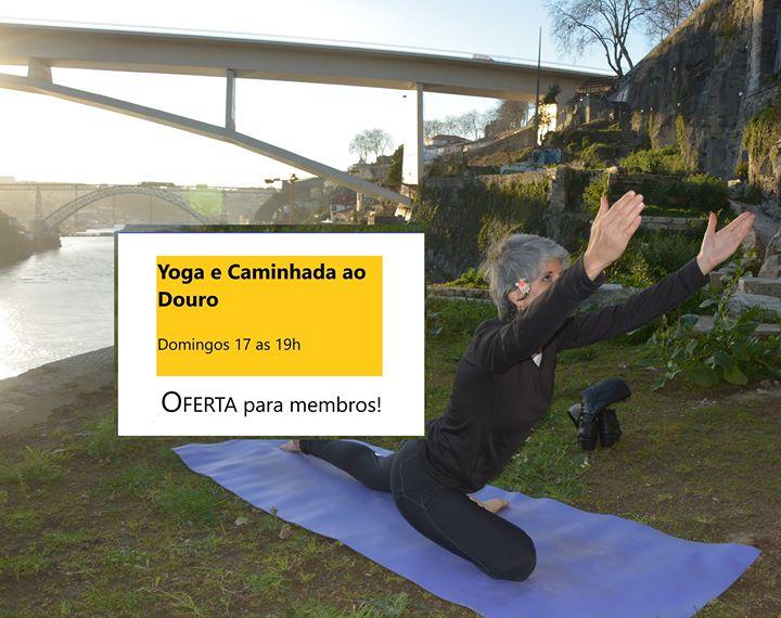 Yoga e Caminhada ao Douro