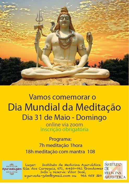 Comemoração do dia Mundial da Meditação - se poder partilhe