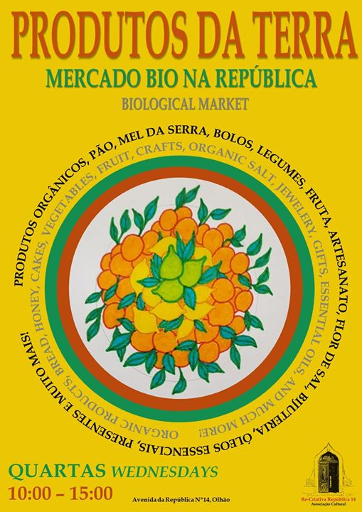 Mercado Bio na República 14 - Quartas das 10h às 14h