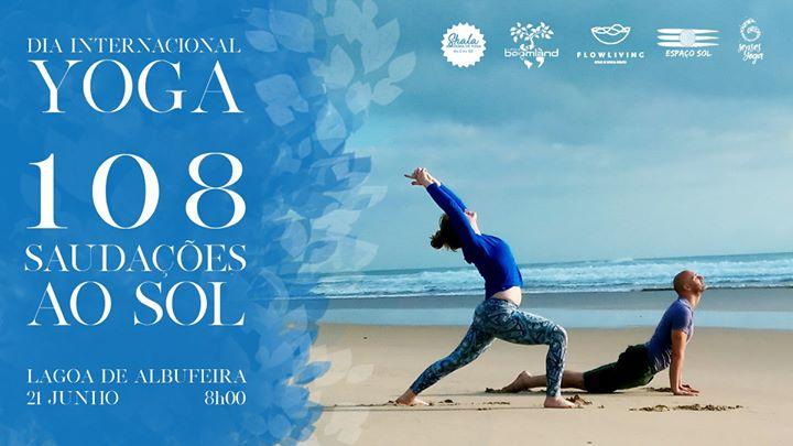 108 Saudações ao sol - dia internacional do yoga