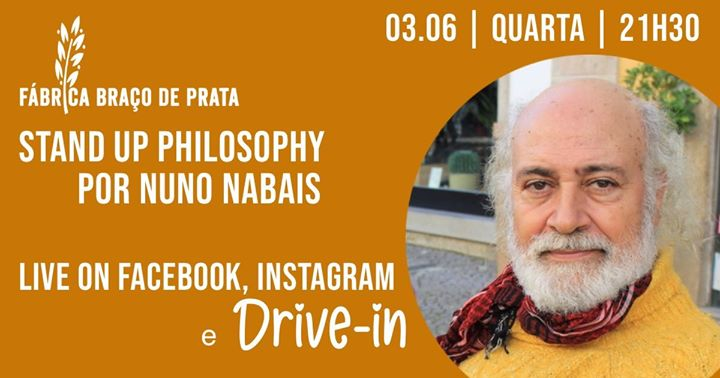 Drive-in + Live | Stand Up Philosophy por Nuno Nabais