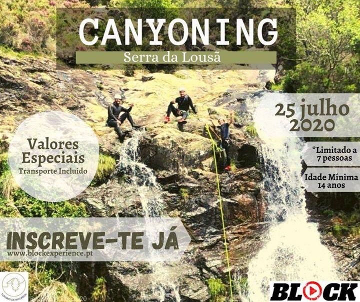 Canyoning Serra da Lousã