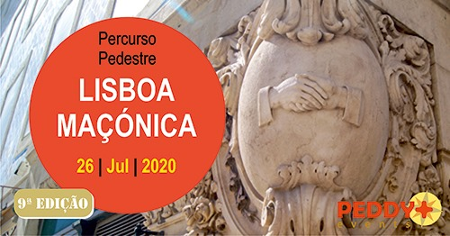 Percurso Pedestre 'Lisboa Maçónica' (9ª Edição)