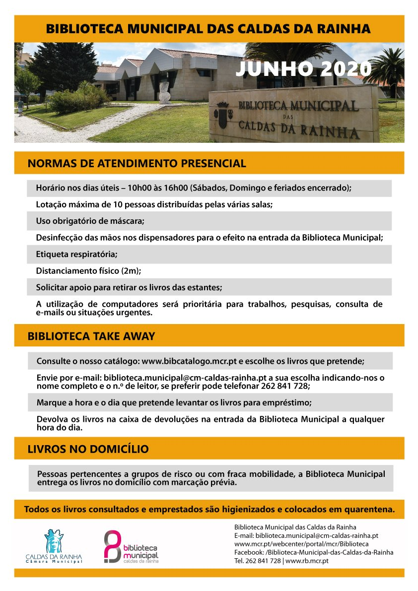NORMAS DE FUNCIONAMENTO DA BIBLIOTECA MUNICIPAL