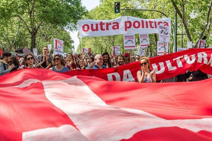 Manifestação Nacional da Cultura - Porto