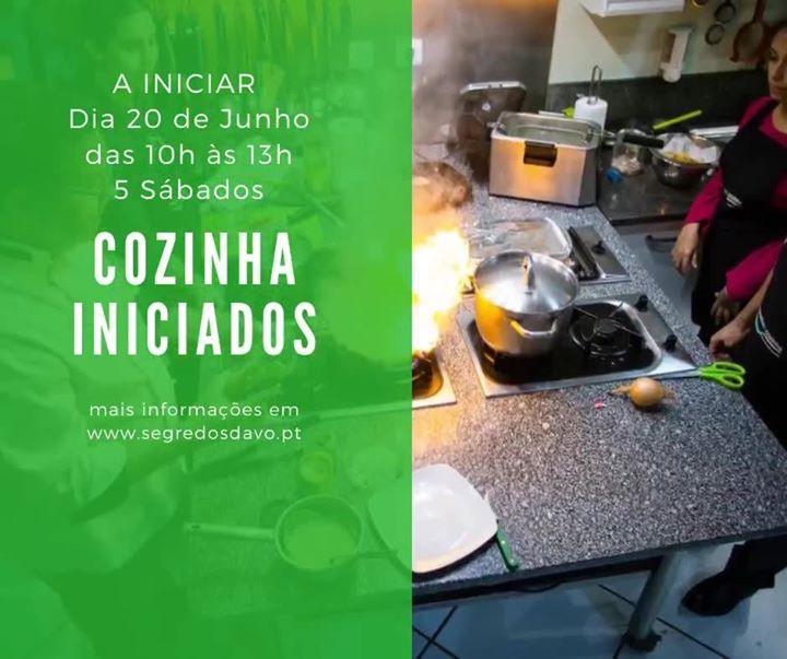 Cozinha Iniciados - Sábados