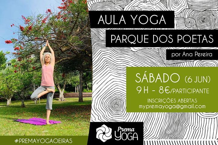 Aula de Yoga no Parque dos Poetas