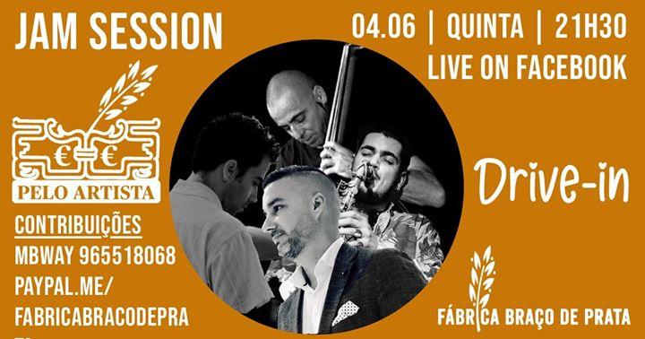 Drive + Live | Jam Session com Victor Zamora