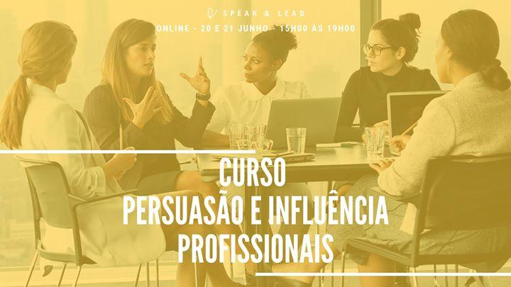 Curso Persuasão e Influência - Profissionais (Online)