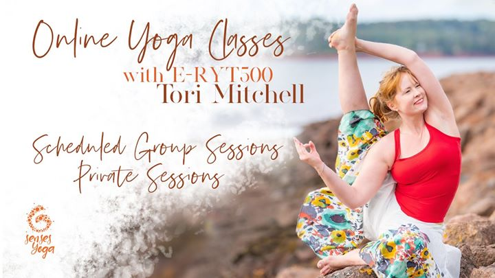 Online Yoga Classes with E-RYT 500 Tori Mitchell