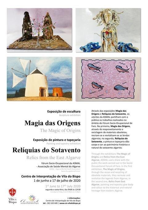 """Centro de Interpretação de Vila do Bispo reabre com as exposições """"Magia das Origens"""" e """"Relíquias do Sotavento"""""""