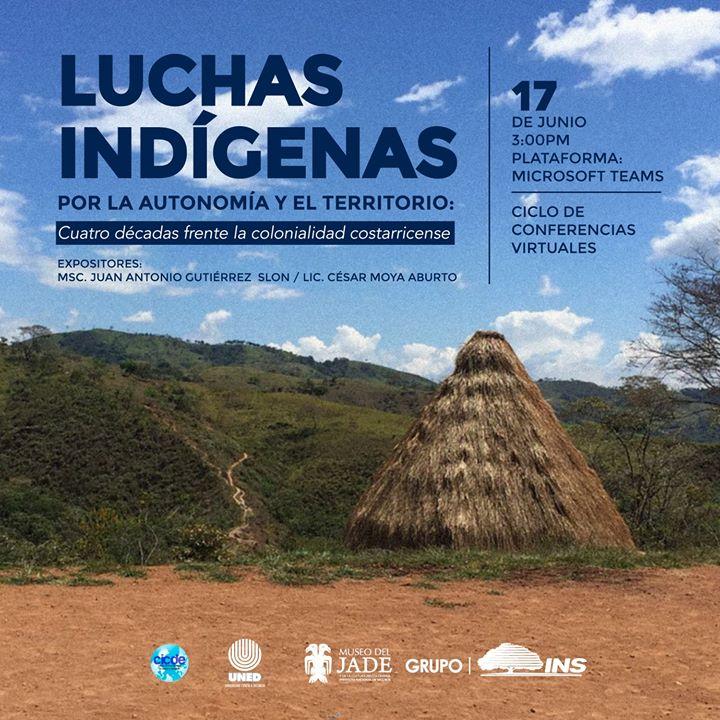 Conferencia: Luchas indígenas por la autonomía y el territorio