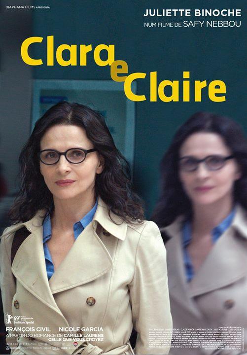 Cineclube CCC 'Clara e Claire', de Safy Nebbou