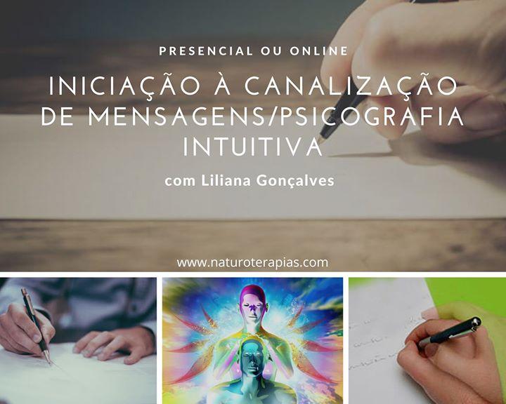 Iniciação à Canalização de Mensagens/Psicografia Intuitiva