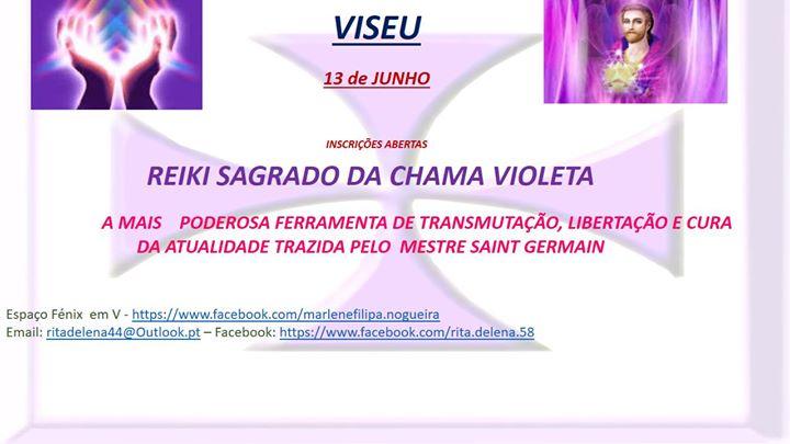 Curso De Reiki Sagrado Da Chama Violeta