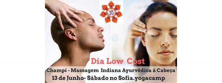 Dia Low Cost- Massagem Indiana Ayurvêdica à Cabeça