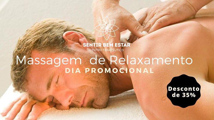 Massagem de Relaxamento - Dia Promocional