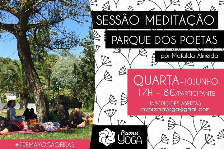 Sessão de Meditação no Parque dos Poetas