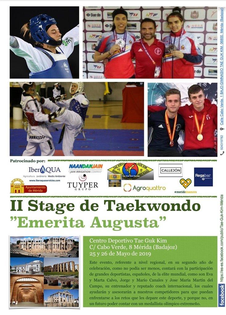 II Stage de Taekwondo Emerita Augusta